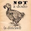 not a dodo; a diricawl