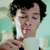 smirking Sherlock