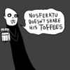 cartoon nosferatu not sharing toffees
