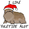 The mythological alot loves Yuletide.