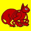 MMADfan&#x27;s Red Celtic Cat Avatar