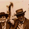 etta place and butch cassidy laughing