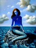 Rafal Olbinski - Waiting for Ulysses (mermaid)