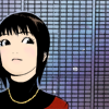 A smug looking Kanzaki Nao from Liar Game