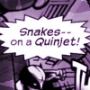 Snakes on a Quinjet!