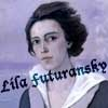 image of romaine brooks; text &quot;lila futuransky&quot;