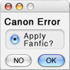 Canon Error: Apply Fanfic Y/N?
