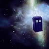 TARDIS in SPACE, made by flyyourselfaway