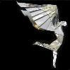 A picture of the origami model called 'Daedalus'