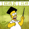 Homer Simpson urges you to imagine.