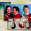 Kirk/Spock/McCoy icon by lemonrocket