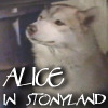Alice in Stonyland over Dief by heuradys