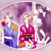 Natsume Yuujinchou OT3 icon by misako_chan on LJ