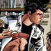 dick grayson enjoying a bowl of cereal
