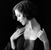 maggie gyllenhaal in black and white