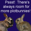 Psst! There&#x27;s always room for more plotbunnies!