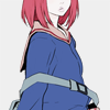partial figure of mamimi of flcl (icon by warsex)