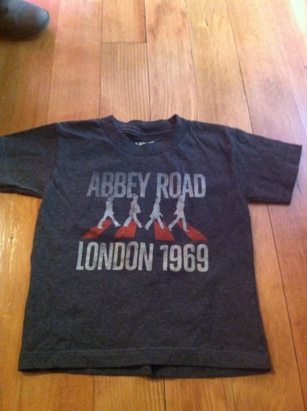 Beatles Abbey Road t-shirt 2T