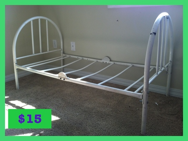 Toddler Rod Iron Bed Frame