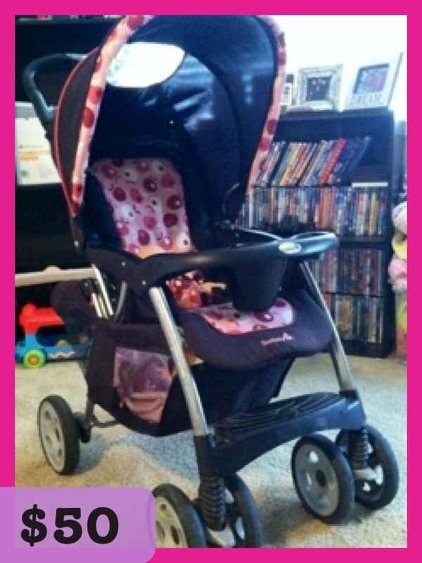 Safety First Baby Stroller 