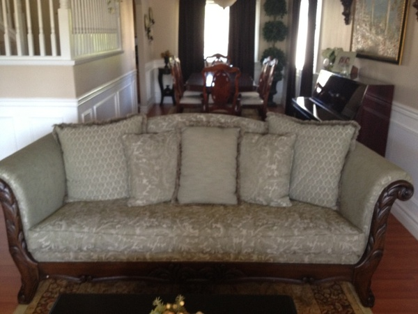 Selling two piece sofa.