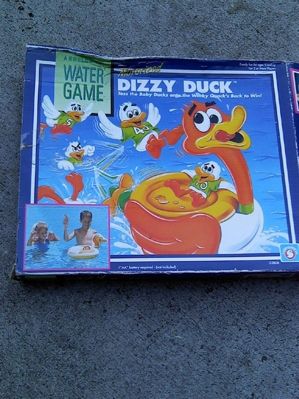 Dizzy duck water game