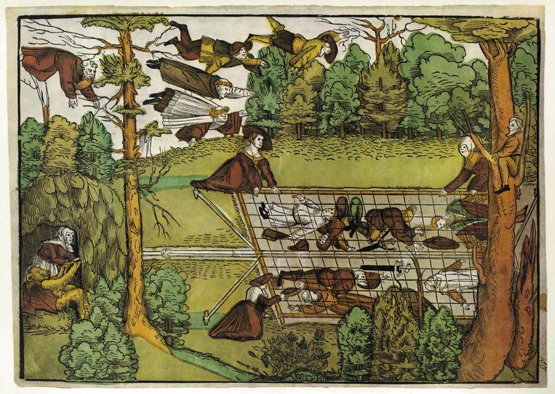 Facsimile 'Der Buhler Vogelherd', c. 1535 from Flugblatter der Reformation und des Bauernfrieges