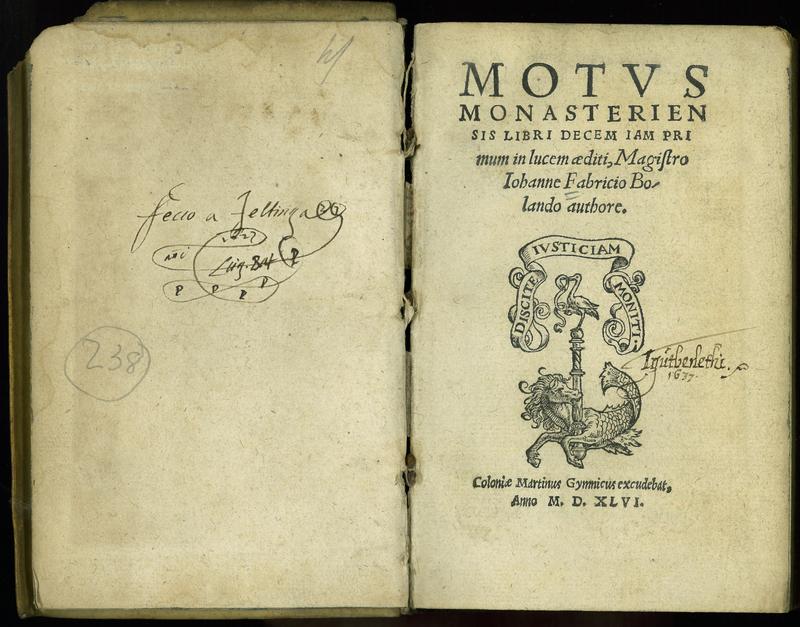 Motvs Monasteriensis Libri Decem