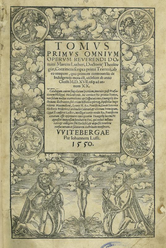 Tomus Primus Omnium Operum