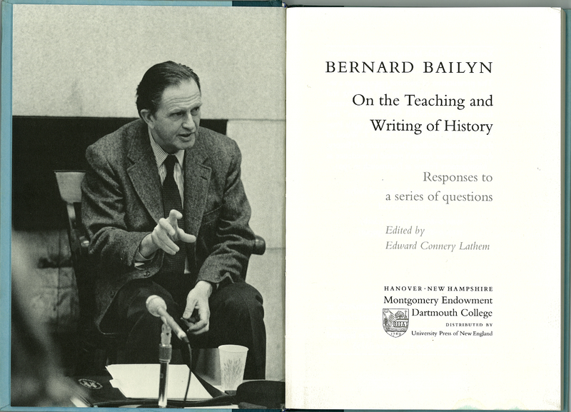 On the Teaching and Writing of History: Responses to a Series of Questions