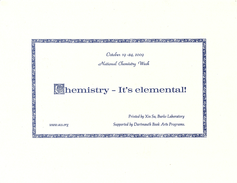 Chemistry – It's elemental!