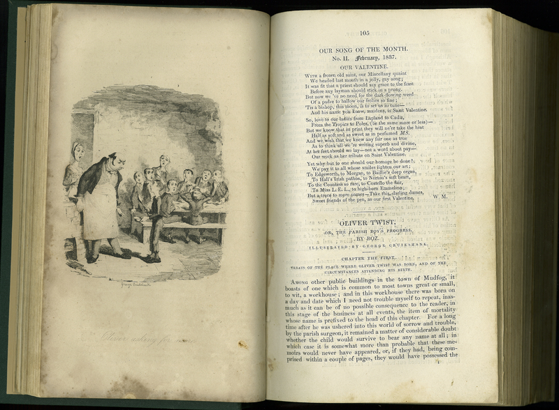 'Oliver Twist', in Bentley's Miscellany, Vol. 1
