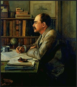 Rudyard Kipling by Sir Philip Burne-Jones, 2nd Bt