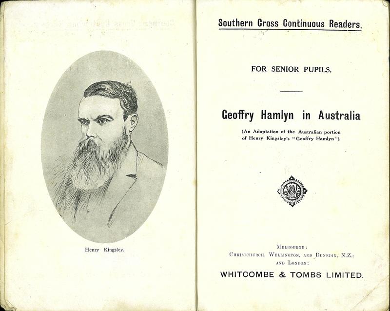 Geoffry Hamlyn in Australia