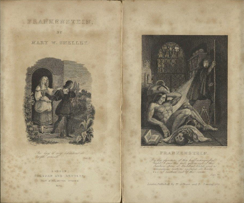 Frankenstein, Illustrated