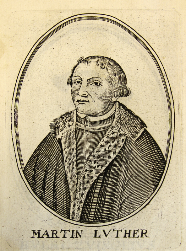 'Martin Luther' from [Herōologia Anglica]