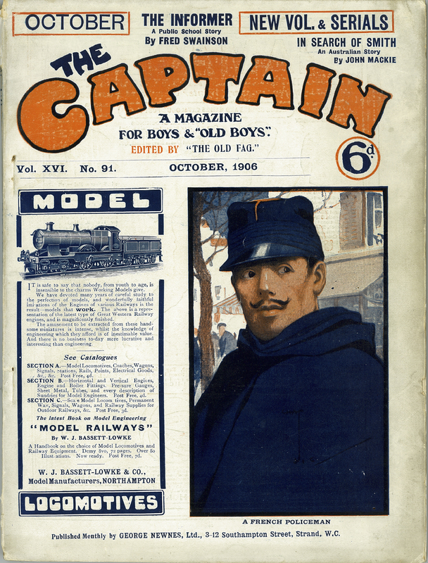 The Captain. A Magazine for Boys & 'Old Boys' Vol. XVI