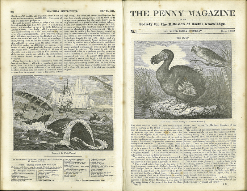 The Penny Magazine of the Society for the Diffusion of Useful Knowledge