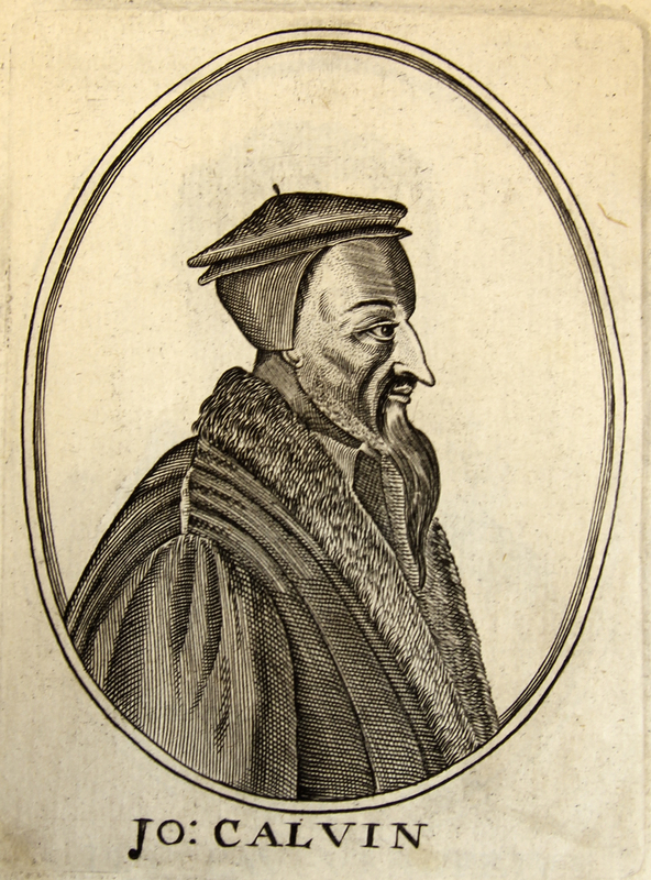 'John Calvin', from Herōologia Anglica