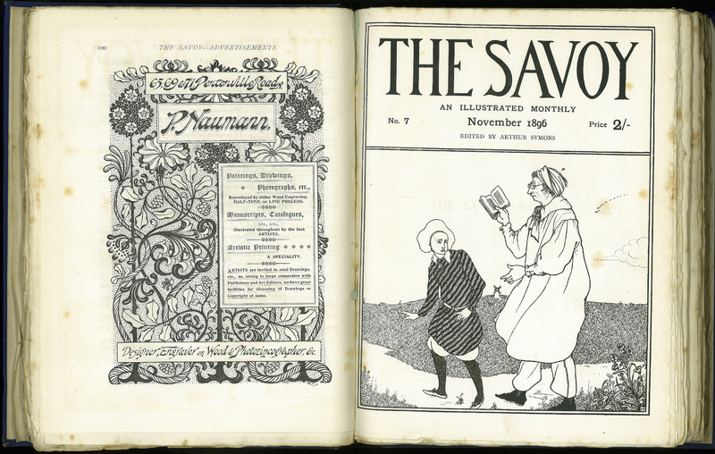 The Savoy. An Illustrated Monthly, No. 7