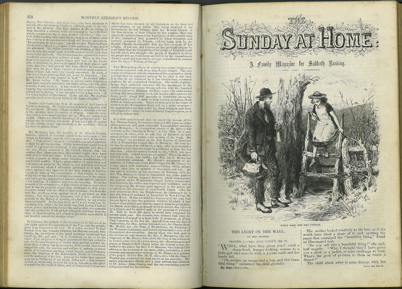 The Sunday at Home. A Family Magazine for Sabbath Reading