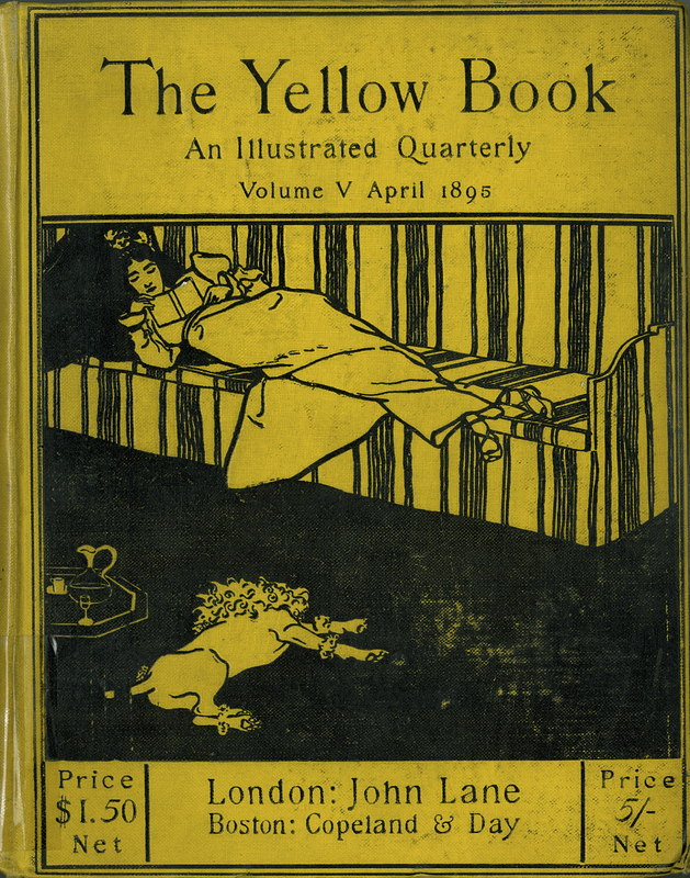 The Yellow Book. An Illustrated Quarterly. Vol. V