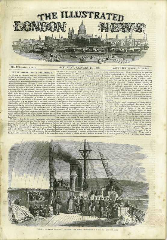 London Illustrated News, Vol. XXVI, no. 725