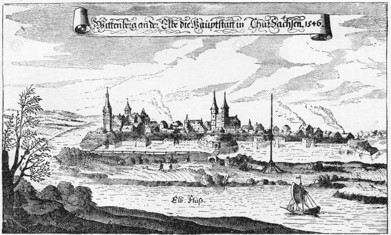 Town of Wittenberg, 1546