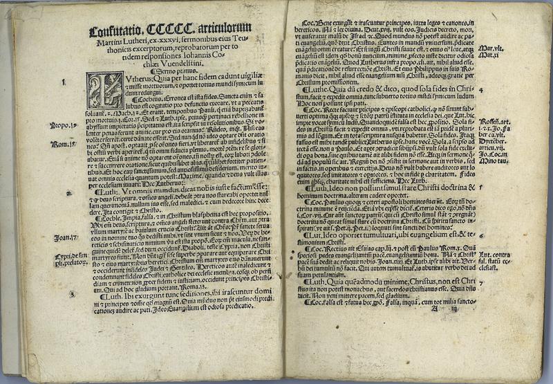 Articuli CCCCC. Martini Lutheri: ex sermonibus eius sex et triginta, quibus singulatim responsum est