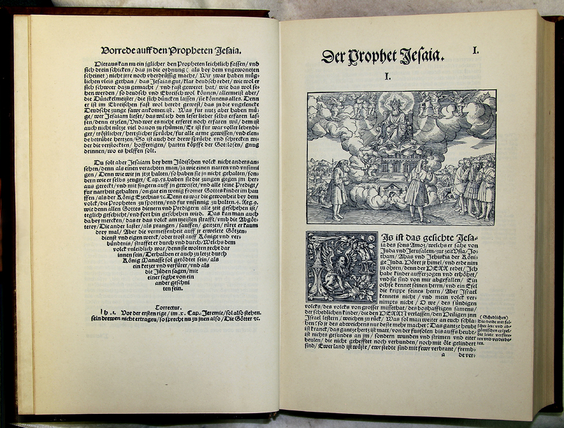 Die Propheten Alle Deutsch [The Bible], (Wittenberg: Hans Lufft, 1534)