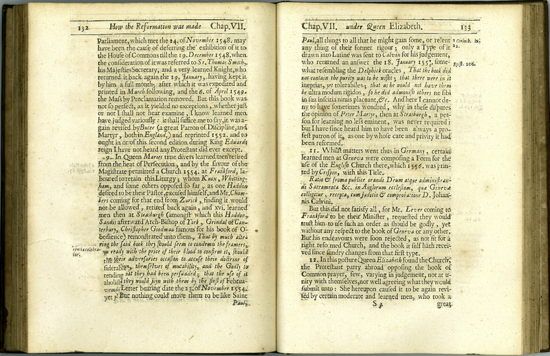 An Historical Vindication of the Church of England in Point of Schism