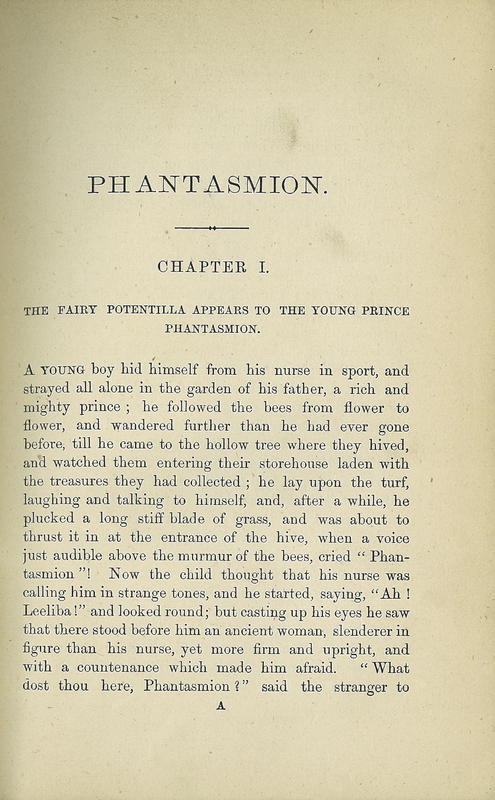 Phantasmion, A Fairy Tale