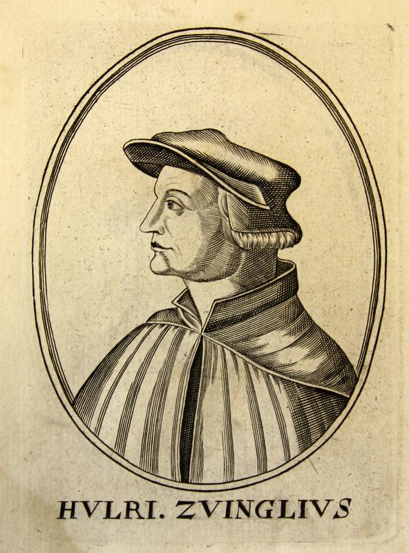 'Huldrych Zwingli', from Herōologia Anglica