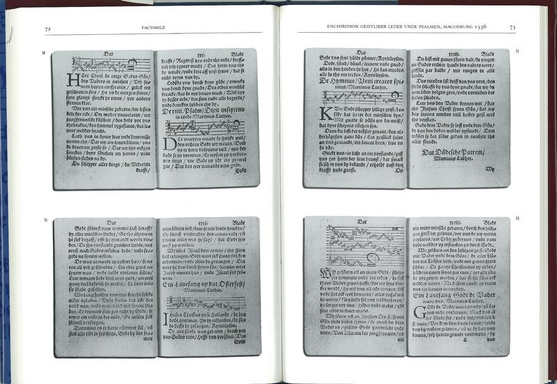 Enchiridion Geistliker Leder unde Psalmen (1536)
